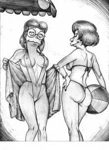 #pic1063599: Edna Krabappel – Elizabeth Hoover – Pandoras Box – The Simpsons
