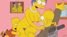 #pic735196: Bart Simpson – ChainMale – Homer Simpson – Lisa Simpson – Marge Simpson – Santa's Little Helper – The Simpsons