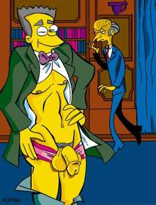 #pic734198: Montgomery Burns – The Simpsons – Victor Hodge – Waylon Smithers