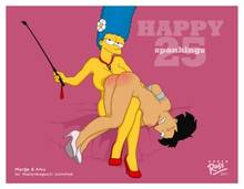 #pic729951: Amy Wong – Futurama – Marge Simpson – The Simpsons – crossover – ross