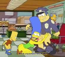 #pic727892: Bart Simpson – Chief Wiggum – Marge Simpson – PornCartoon – The Simpsons