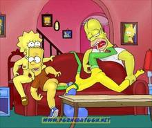 #pic727839: Bart Simpson – Homer Simpson – Lisa Simpson – Marge Simpson – PornCartoon – The Simpsons