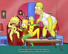 #pic727840: Bart Simpson – Homer Simpson – Lisa Simpson – Marge Simpson – PornCartoon – The Simpsons