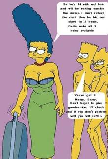 #pic787805: Bart Simpson – Lisa Simpson – Marge Simpson – The Fear – The Simpsons