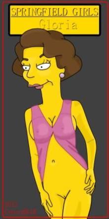 #pic780354: CyborgBLUE – Gloria – The Simpsons