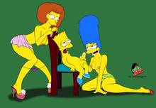 #pic1321544: Bart Simpson – Croc (artist) – Marge Simpson – Maude Flanders – The Simpsons – crocsxtoons