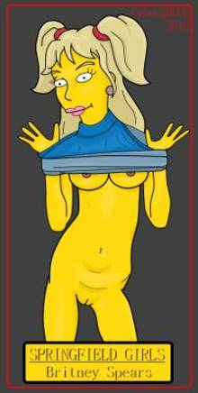 #pic766183: Britney Spears – CyborgBLUE – The Simpsons