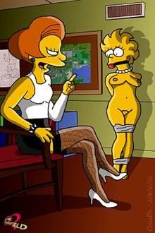 #pic762376: Claudia-R – Edna Krabappel – Lisa Simpson – The Simpsons