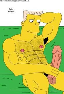 #pic761357: Rainier Wolfcastle – The Simpsons – manlytoons
