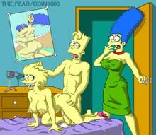 #pic755749: Bart Simpson – Lisa Simpson – Marge Simpson – The Fear – The Simpsons – odin3000
