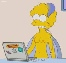 #pic754610: ChainMale – The Simpsons – Zia Simpson