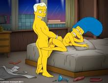 #pic753855: Marge Simpson – Robert Marlowe – The Simpsons – cartoon avenger