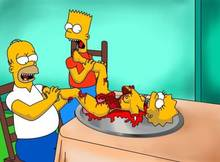 #pic753363: Bart Simpson – Homer Simpson – Lisa Simpson – The Simpsons – Wolverine (artist)