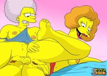 #pic746348: Maude Flanders – Patty Bouvier – The Simpsons – futa-toon