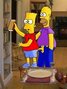 #pic743967: Bart Simpson – Homer Simpson – The Simpsons