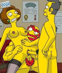#pic741500: Edna Krabappel – Groundskeeper Willie – Seymour Skinner – The Simpsons – famous-toons-facial