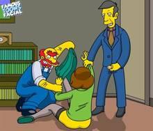 #pic741494: Edna Krabappel – Groundskeeper Willie – Seymour Skinner – The Simpsons – famous-toons-facial