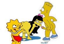 #pic651508: Bart Simpson – Jessica Lovejoy – Killbot – Lisa Simpson – The Simpsons