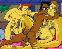 #pic650068: Doug – Gary – The Simpsons – Victor Hodge – benjamin