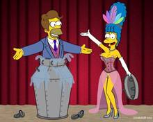#pic648515: Homer Simpson – Marge Simpson – The Simpsons – cosmanip