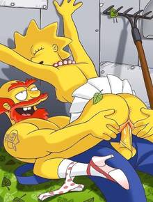 #pic1306111: Groundskeeper Willie – Lisa Simpson – The Simpsons