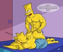 #pic1105458: Bart Simpson – Lisa Simpson – The Simpsons – kogeikun