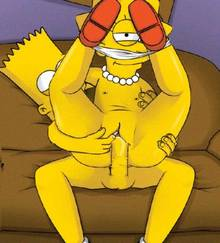 #pic1106018: Bart Simpson – Lisa Simpson – The Simpsons – animated