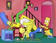 #pic727829: Bart Simpson – Homer Simpson – Lisa Simpson – Marge Simpson – PornCartoon – The Simpsons