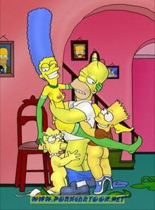 #pic727828: Bart Simpson – Homer Simpson – Lisa Simpson – Marge Simpson – PornCartoon – The Simpsons
