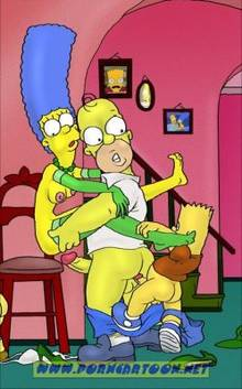 #pic727815: Bart Simpson – Homer Simpson – Lisa Simpson – Marge Simpson – PornCartoon – The Simpsons