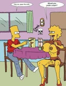 #pic726216: Bart Simpson – Lisa Simpson – The Fear – The Simpsons