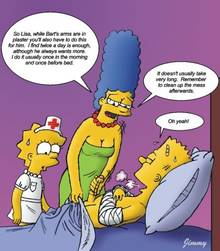 #pic726134: Bart Simpson – Jimmy – Lisa Simpson – Marge Simpson – The Simpsons