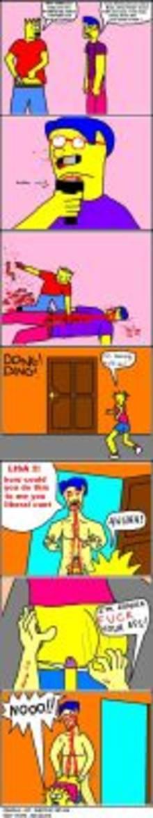 #pic692846: Bart Simpson – Electric Retard – Lisa Simpson – Milhouse Van Houten – The Simpsons