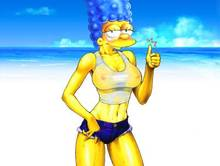 #pic688904: CyborgBLUE – Samantha Stanky – The Simpsons