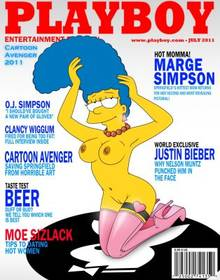 #pic687934: Marge Simpson – Playboy – Playtoon – The Simpsons – cartoon avenger