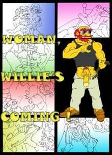#pic681097: Edna Krabappel – Elizabeth Hoover – Groundskeeper Willie – Lisa Simpson – Marge Simpson – Maude Flanders – The Simpsons