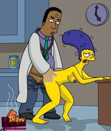#pic680517: Drawn-Hentai – Julius Hibbert – Marge Simpson – The Simpsons