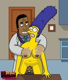 #pic680528: Drawn-Hentai – Julius Hibbert – Marge Simpson – The Simpsons