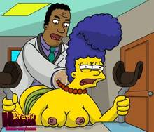 #pic680513: Drawn-Hentai – Julius Hibbert – Marge Simpson – The Simpsons