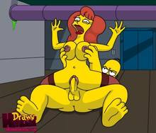 #pic680498: Drawn-Hentai – Homer Simpson – Mindy Simmons – The Simpsons