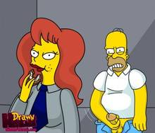 #pic680486: Drawn-Hentai – Homer Simpson – Mindy Simmons – The Simpsons