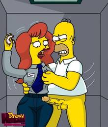 #pic680487: Drawn-Hentai – Homer Simpson – Mindy Simmons – The Simpsons