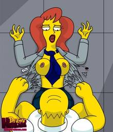 #pic680489: Drawn-Hentai – Homer Simpson – Mindy Simmons – The Simpsons