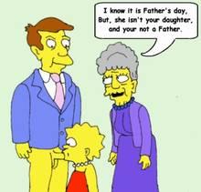 #pic673541: Agnes Skinner – Lisa Simpson – Seymour Skinner – The Simpsons – animated