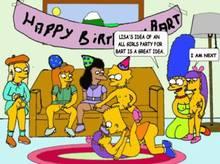 #pic673540: Elizabeth Hoover – Lisa Simpson – Marge Simpson – Seymour Skinner – The Simpsons – animated