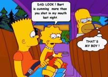 #pic673534: Bart Simpson – Homer Simpson – Lisa Simpson – The Simpsons – animated