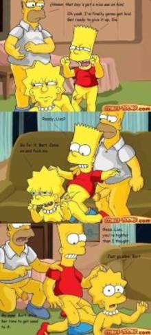 #pic663839: Bart Simpson – Homer Simpson – Lisa Simpson – The Simpsons – comic – comics-toons