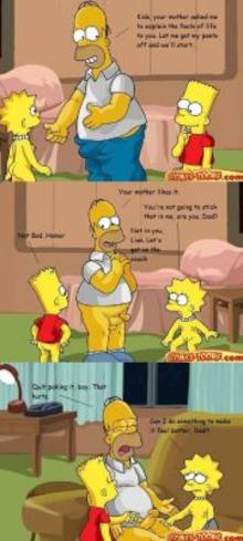 #pic663824: Bart Simpson – Homer Simpson – Lisa Simpson – The Simpsons – comic – comics-toons