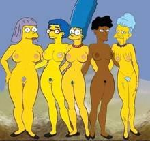 #pic1093747: Agnes Skinner – Bernice Hibbert – HomerJySimpson – Luann Van Houten – Marge Simpson – Sarah Wiggum – The Simpsons – Tulio