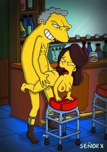 #pic1095014: Maya – Moe Szyslak – The Simpsons – se&ntilde-or x